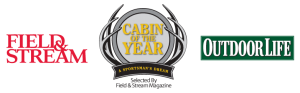 Field & Stream and Outdoor Life Magazines select The Original Log Cabin Homes for the Cabin of The Year