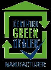 Certified Green Manufacturer