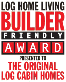 Log Home Living Builder Friendly Award