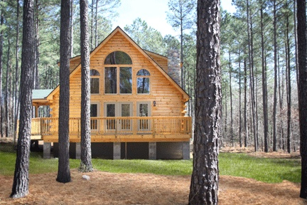 Dave Connie S Mayfield Log Home