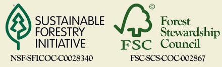 Sustainable Forest Initiative and Forest Stewardship Council