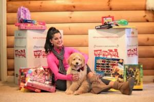 Toys for Tots & Victoria Vesce