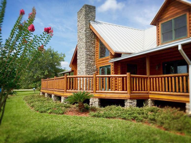 Log Cabin Homes in St. Augustine, FL