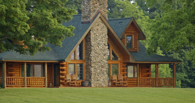 Log Cabin Homes Amp Kits Exterior Photo Gallery
