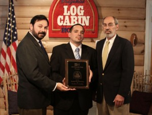 Original Log Cabin Homes Receives Recognition from GAF