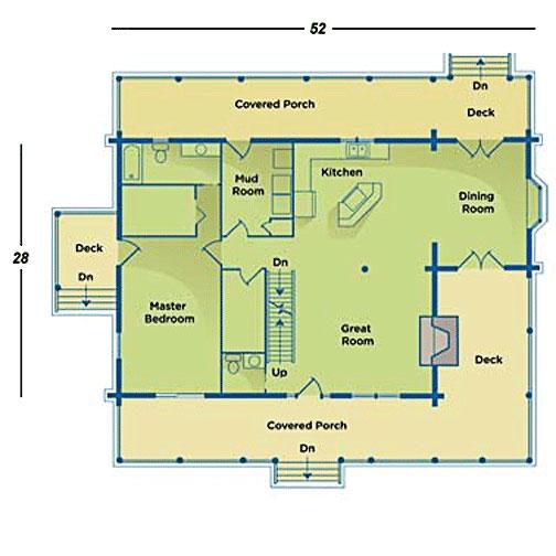 The Suwannee Manatee First Floor