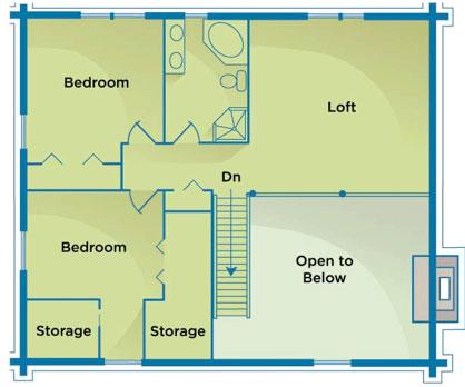The Suwannee Manatee Second Floor