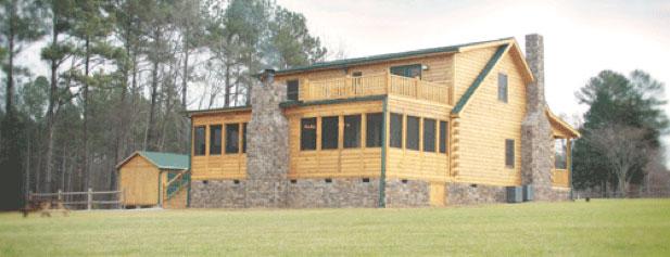 Sunset Lodge rear