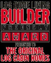 Log Home Living Builder Friendly Award