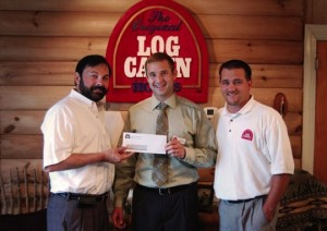 Log Cabin Homes Recognizes 2 Employees