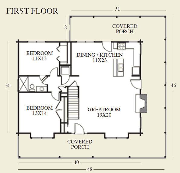 Silverado First Floor