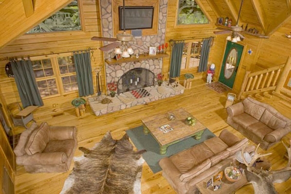 Log Cabin Photo Gallery ~ Log cabin homes kits interior photo gallery