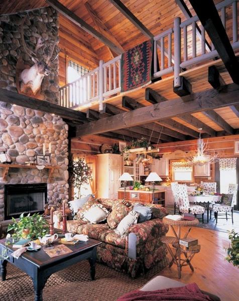The Homestead Model Living Room