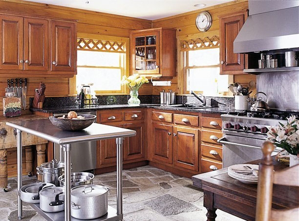 The Wintergreen III Kitchen