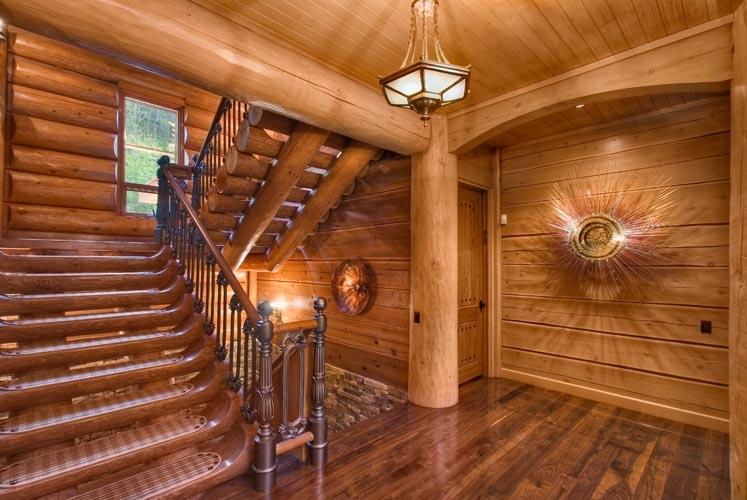 Log Cabin Homes Amp Kits Interior Photo Gallery
