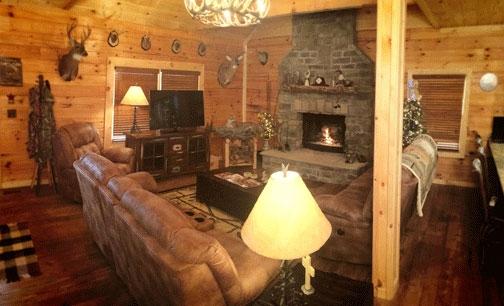 Sunset Lodge Living Room