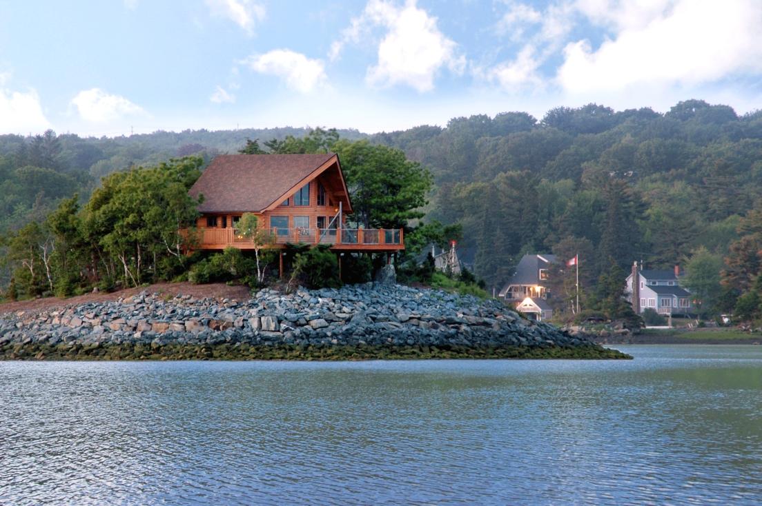 Log Cabin Homes Kits Exterior Photo Gallery