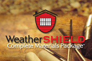 Weather Shield Materials List