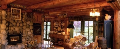 Log Cabin Homes   Kits  Interior Photo Gallery. Log Home Interior Photos. Home Design Ideas