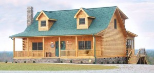 Energy Efficiency of Log Homes and Cabins