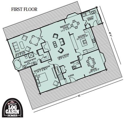 Magnolia - First Floor