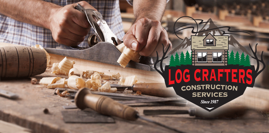Log Wall Erection Services