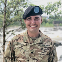 SPC T. J. Vesce at Fort Benning, Georgia