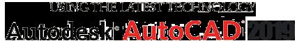 We use Autodesk AutoCAD.