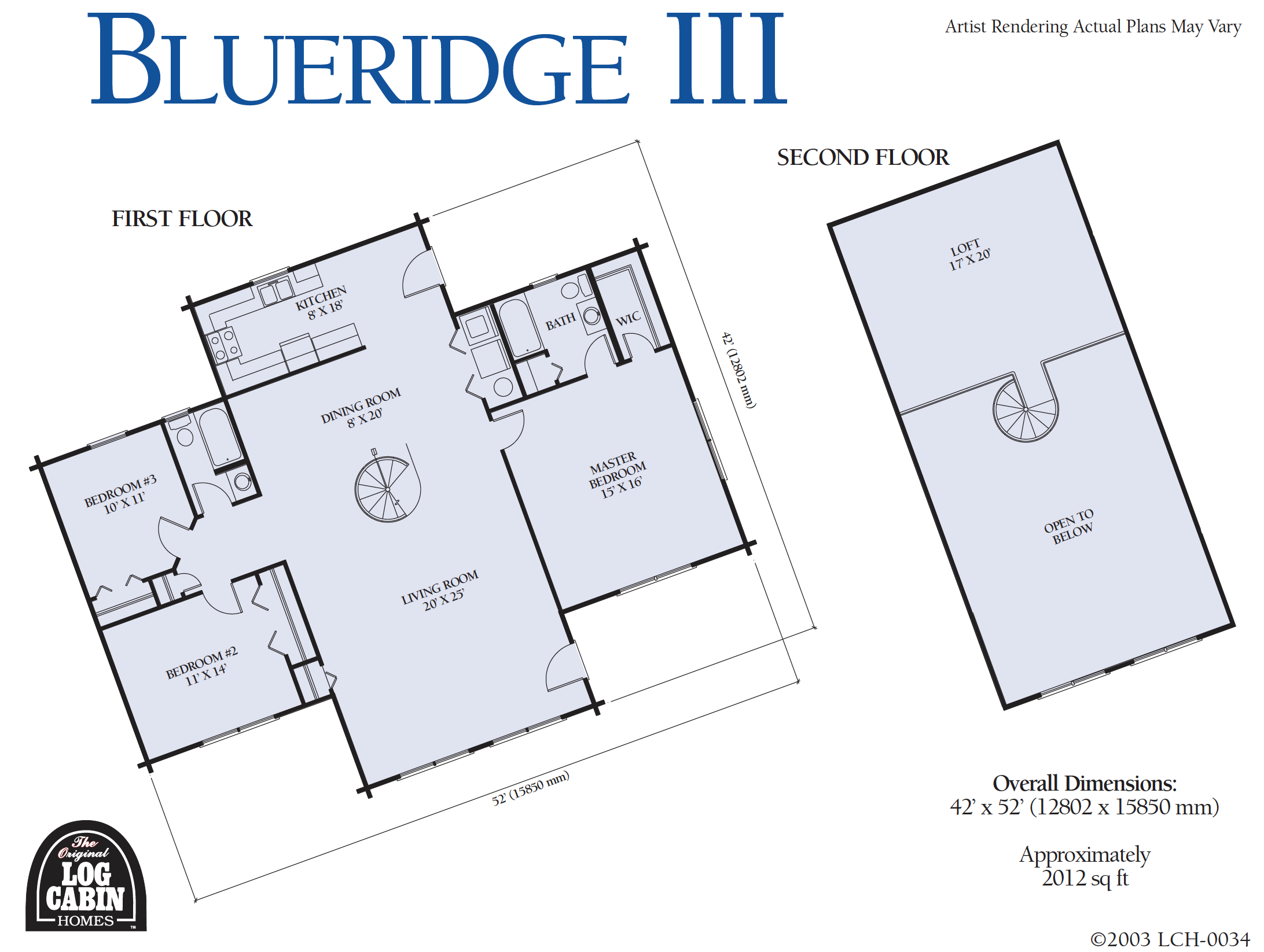 Blue Ridge III Floor Plan