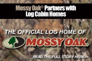 The Original Log Cabin Homes partners with Mossy Oak