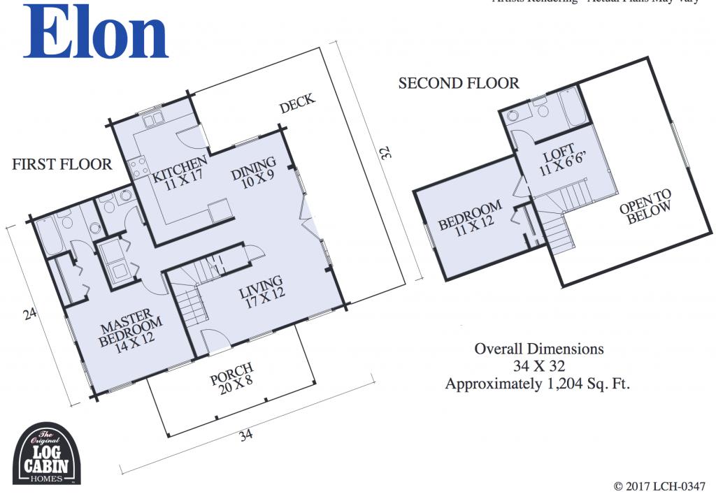 The Elon Floor Plan