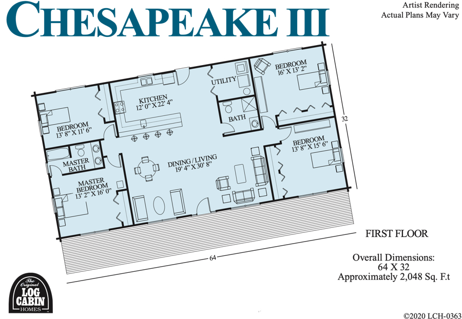 CHESAPEAKE III Floor Plan