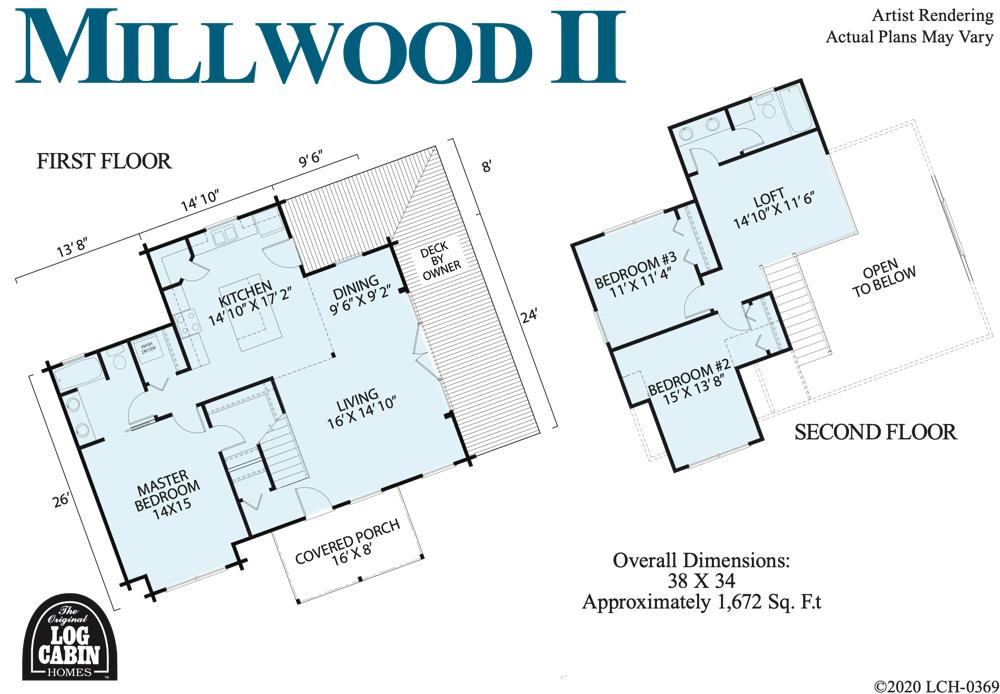 The Millwood floor plan