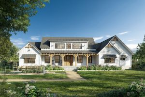 The Thistle Branch Farm is one of the Farmhouse Collection's standard models.